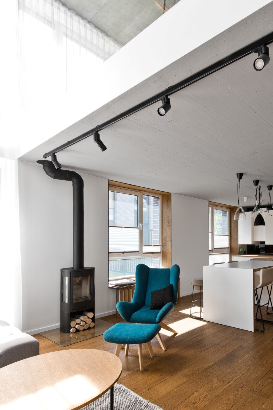 Scandinavian Modern Loft Interior By Inarch