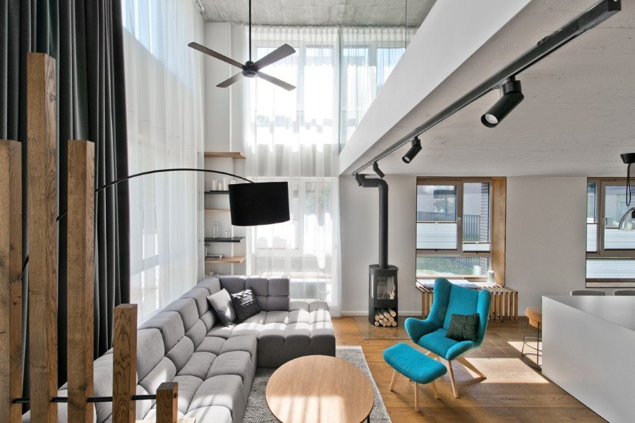 Scandinavian Modern Loft Interior by InArch (17)