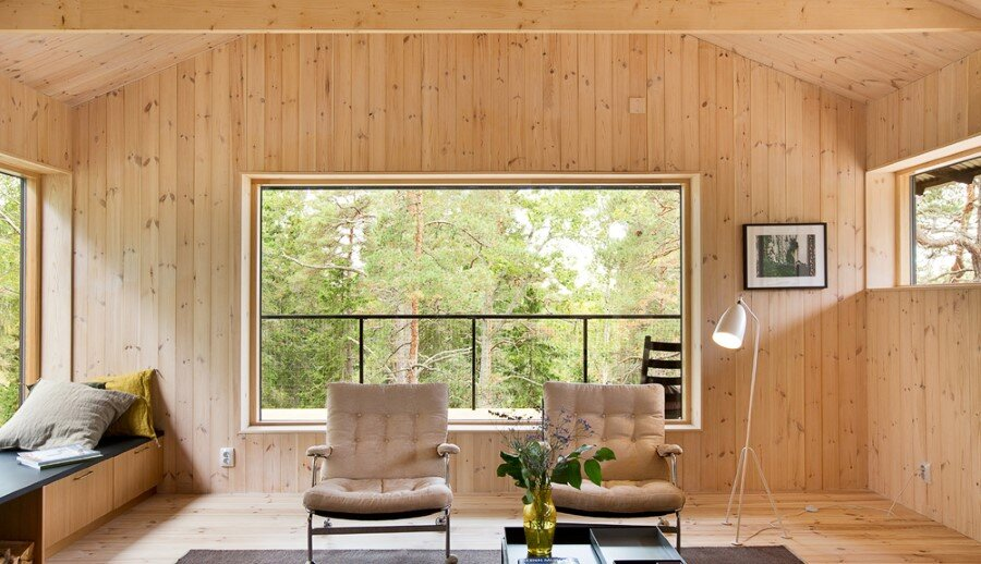 Single Story Vacation House on an Island in the Stockholm Archipelago (11)
