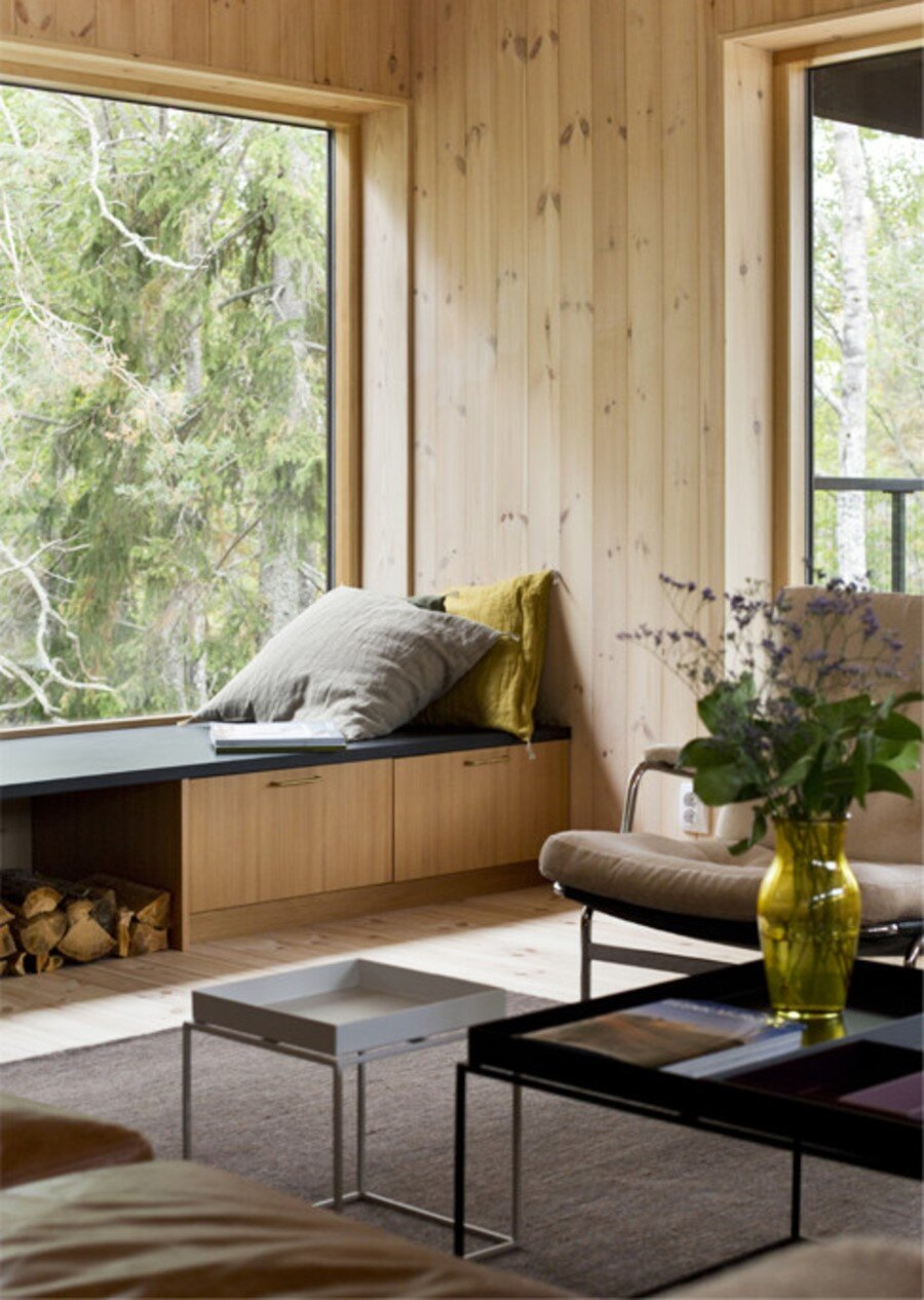 Single Story Vacation House on an Island in the Stockholm Archipelago (2)