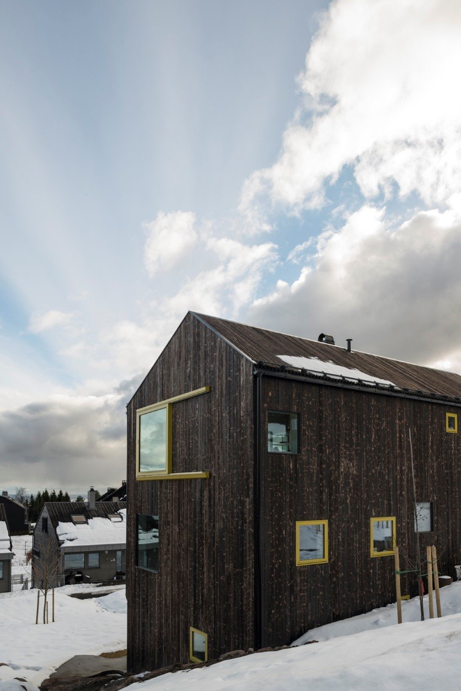 "Single family wood house ""on top of Oslo"" (7)"