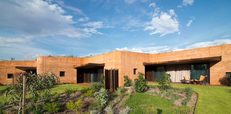 Twelve Earth Covered Residences by Luigi Rosselli Architects (8)