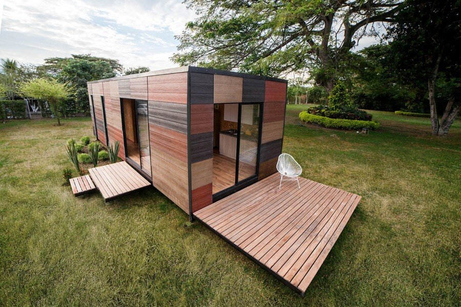 Vimob is a Modular Housing Solution for Areas with Difficult Access (5)