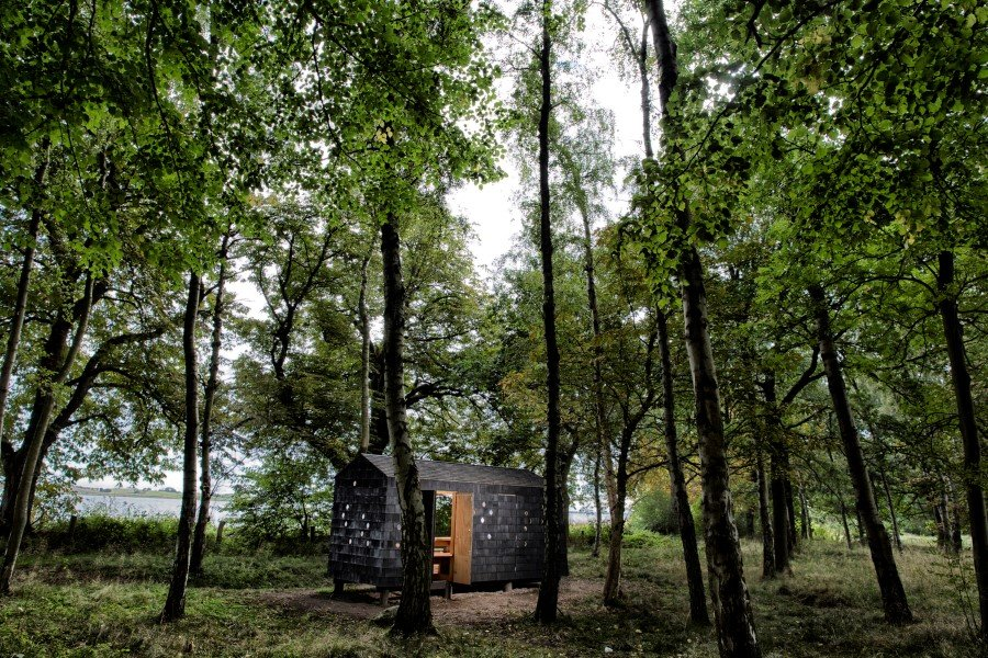 Wooden Shelters and Campsites on the Danish Coast (9)
