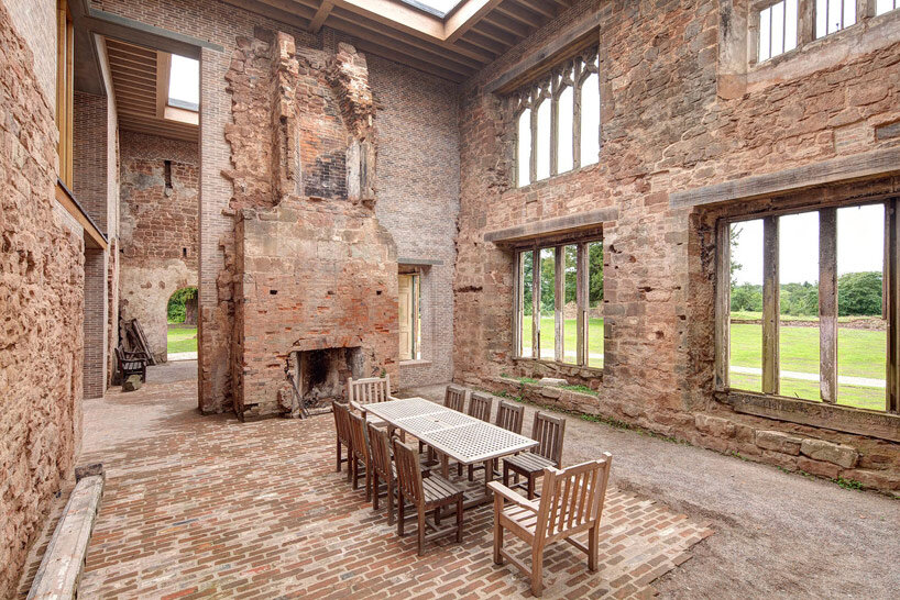 Astley Castle Renovation by Witherford Watson Mann Architects (2)