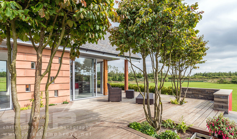 Garden Room Extension - contemporary refurbishment in West Lothian (1)