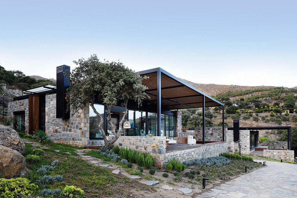 Gumus Su Villas - Mix of Local Architecture and Modern Design (1)