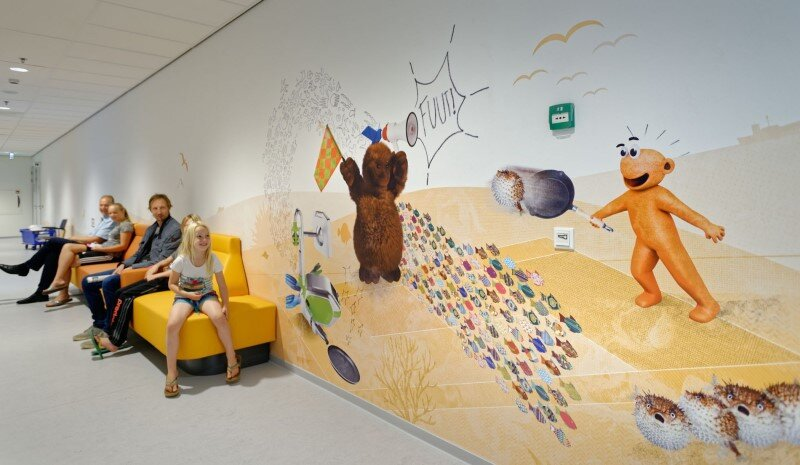 Juliana Children's Hospital – Healthcare Design with Creative Technology and Storytelling