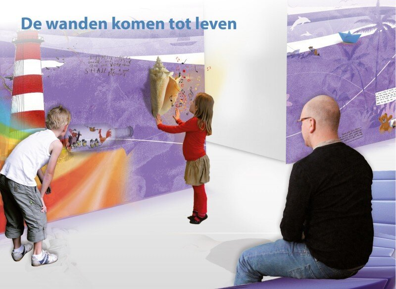 Juliana Children's Hospital - Healthcare Design with Creative Technology and Storytelling (5)