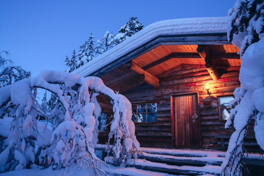 Kakslauttanen Arctic Resort in Finnish Lapland (12)