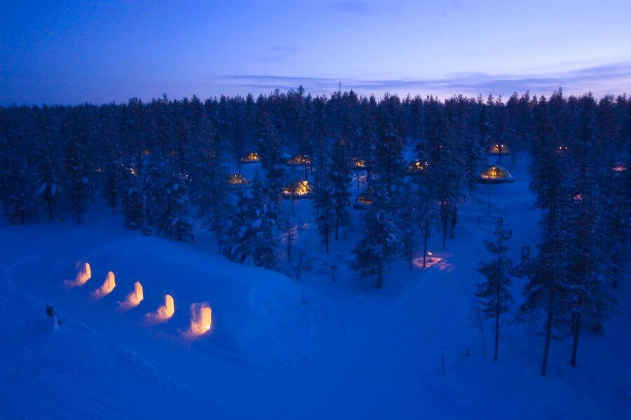 Kakslauttanen Arctic Resort in Finnish Lapland (17)