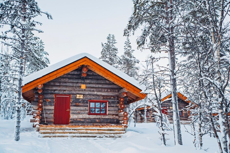 Kakslauttanen Arctic Resort in Finnish Lapland (22)