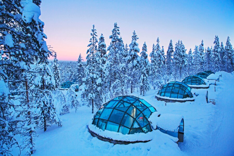 Kakslauttanen Arctic Resort in Finnish Lapland (8)