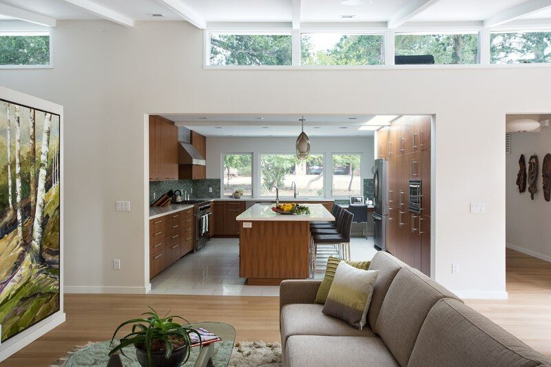 Mid-Century Modern House Remodeled for a Family of Five (5)