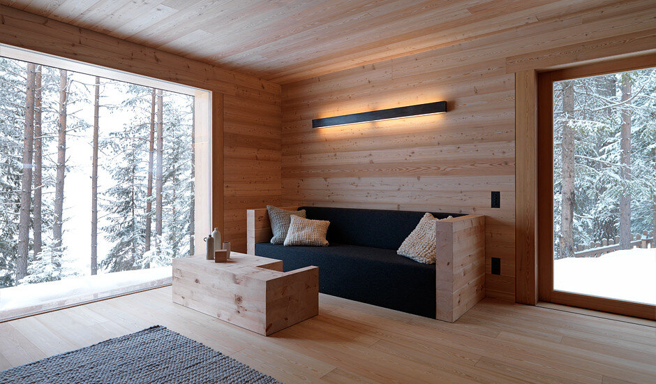 Mountain Lodge Tamersc Inspired by Alpine Traditions in South Tyrol (4)
