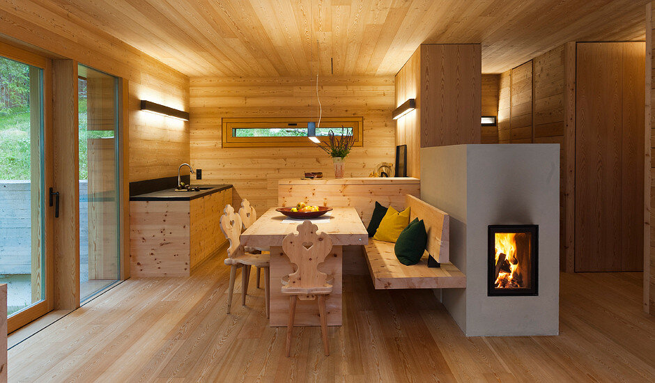 Mountain Lodge Tamersc Inspired by Alpine Traditions in South Tyrol (5)