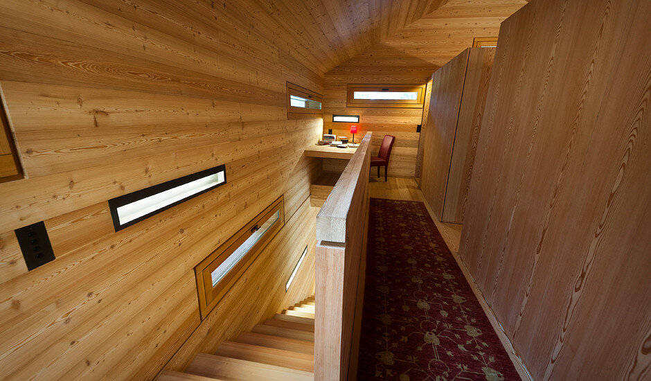 Mountain Lodge Tamersc Inspired by Alpine Traditions in South Tyrol (6)