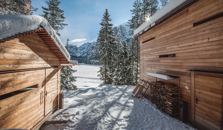 Mountain Lodge Tamersc Inspired by Alpine Traditions in South Tyrol (9)