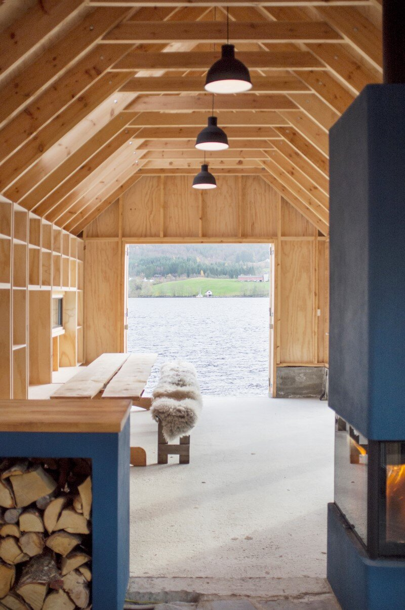 Old boat house converted into recreational space (8)