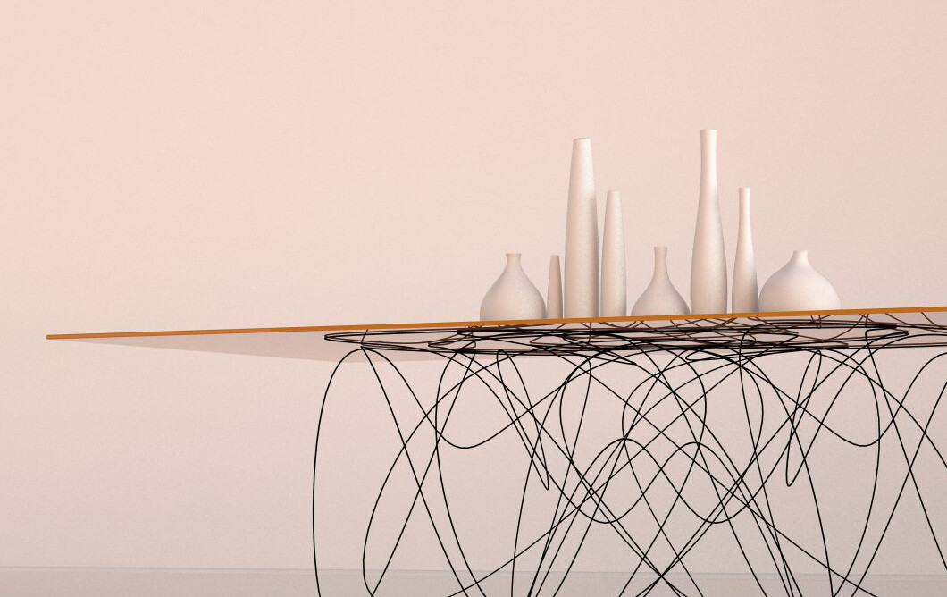 Quantum Table is Inspired by the Motion of Subatomic Particles (10)