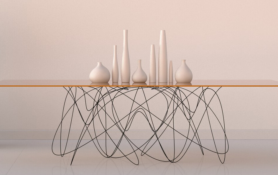 Quantum Table is Inspired by the Motion of Subatomic Particles (8)