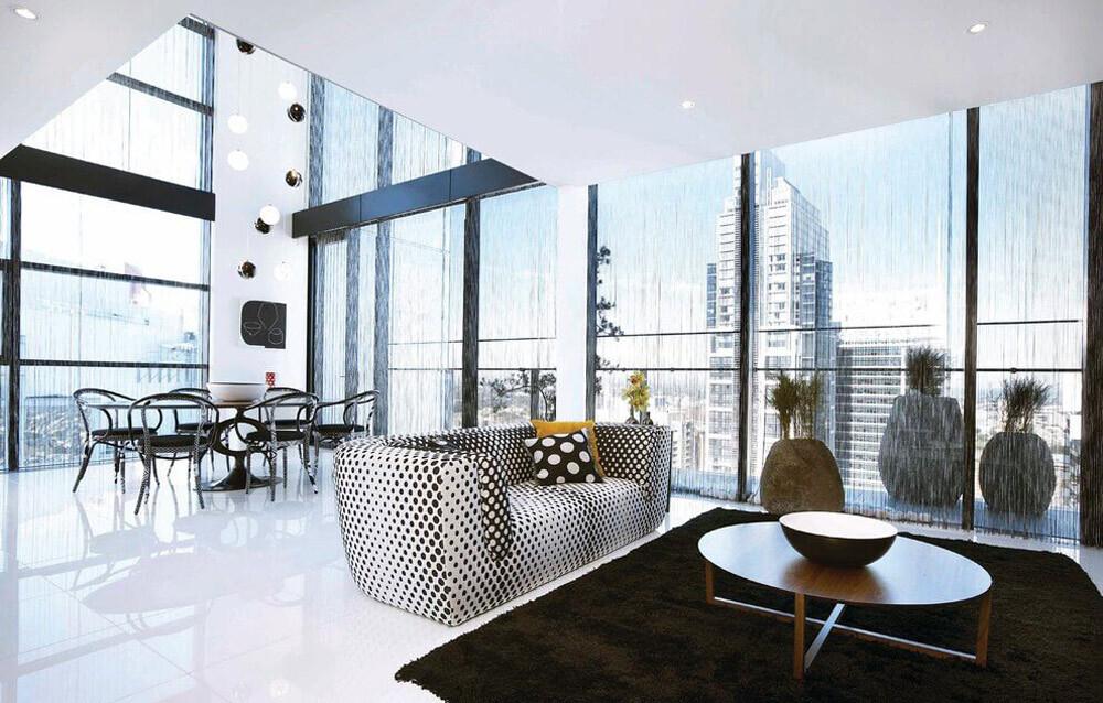 Sky Penthouse in Lumière Building Skyscraper, Sydney (4)