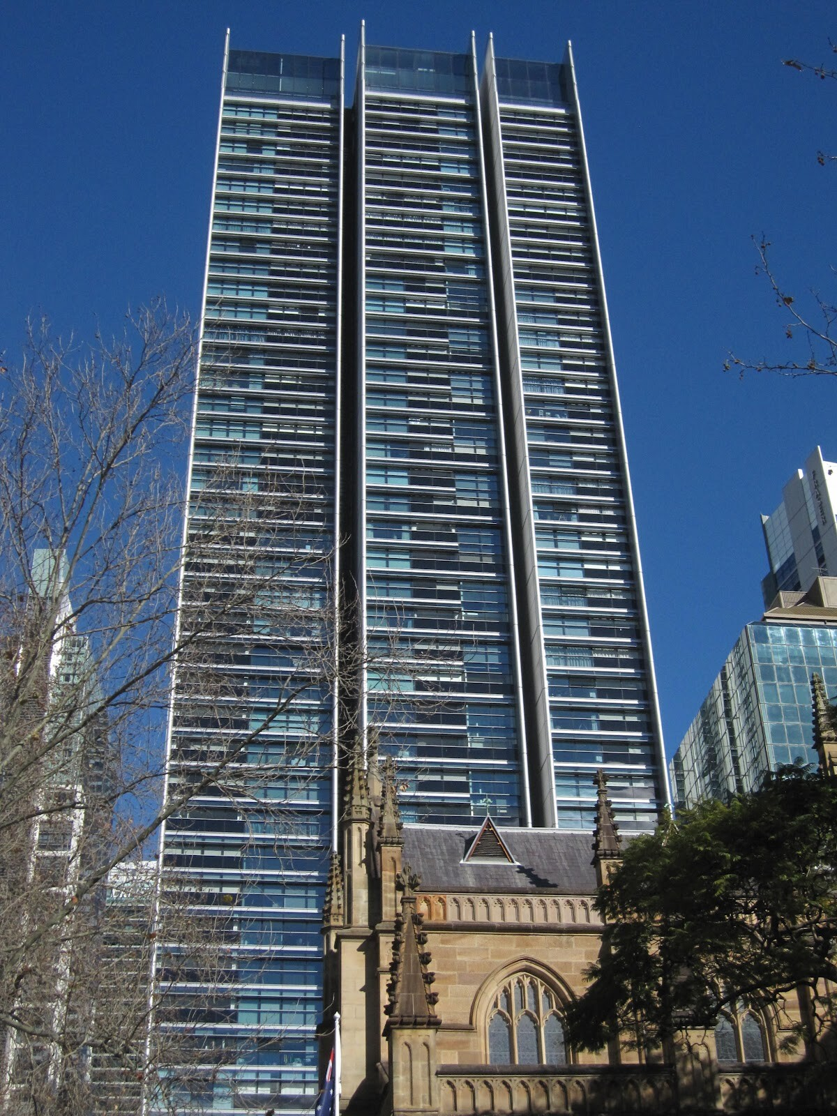 Sky Penthouse In Lumi 232 Re Building Skyscraper Sydney