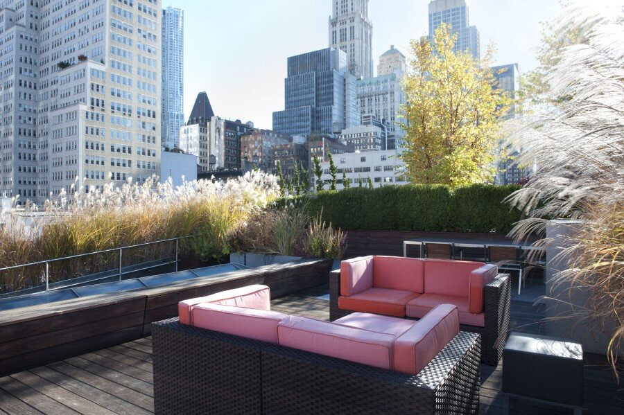 Spectacular and Fashionable Tribeca Penthouse in New York (11)