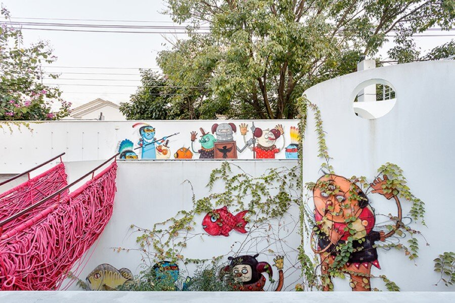 Toy House Was Conceived as a Huge Playground for a Growing Family