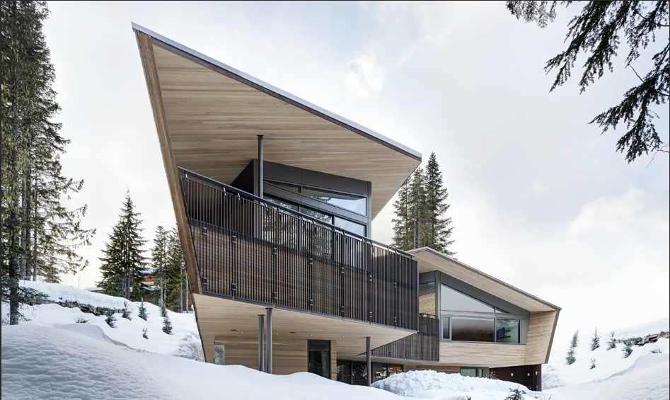 Whistler House Designed with a Modern and Enigmatic Facade (1)