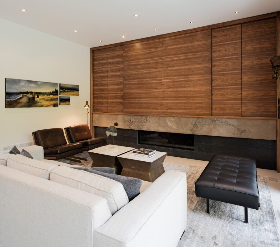 Heathdale Residence - smart home encased in Cor-Ten steel panels (20)