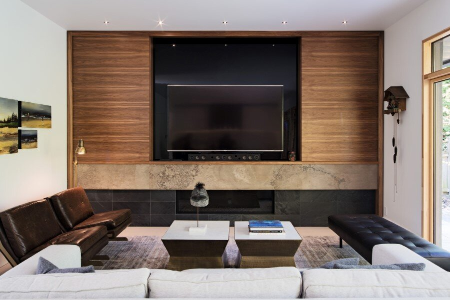 Heathdale Residence - smart home encased in Cor-Ten steel panels (24)