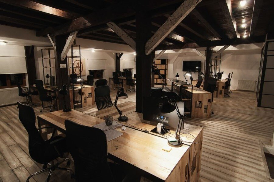 IT Office industrial style interiors designed by Ezzo Design (20)