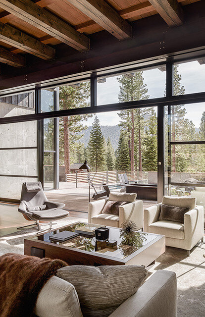 Martis Camp House in Northstar California by Faulkner Architects (15)