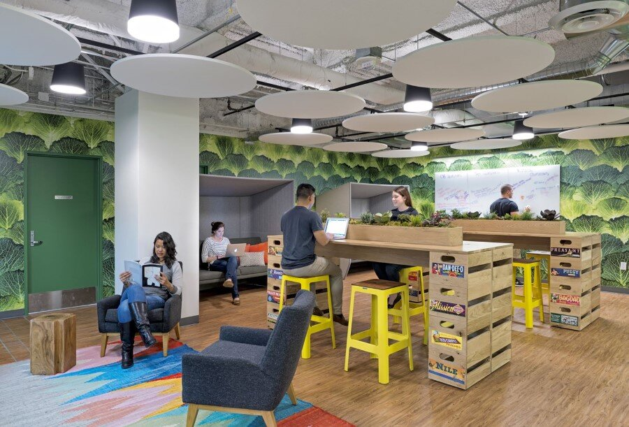 Rooms: New Instacart Offices In San Francisco, California