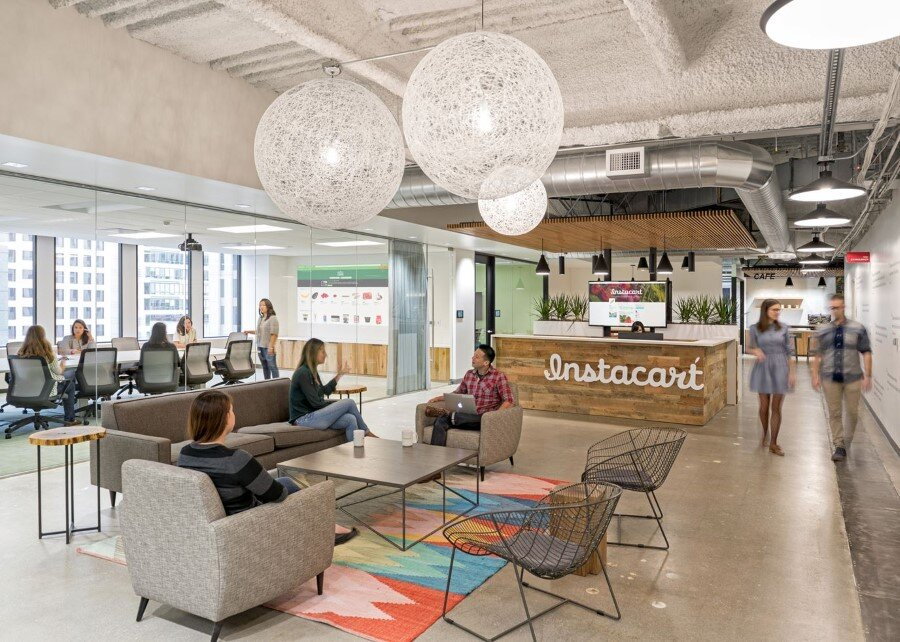 New Instacart Offices in San Francisco, California / Design