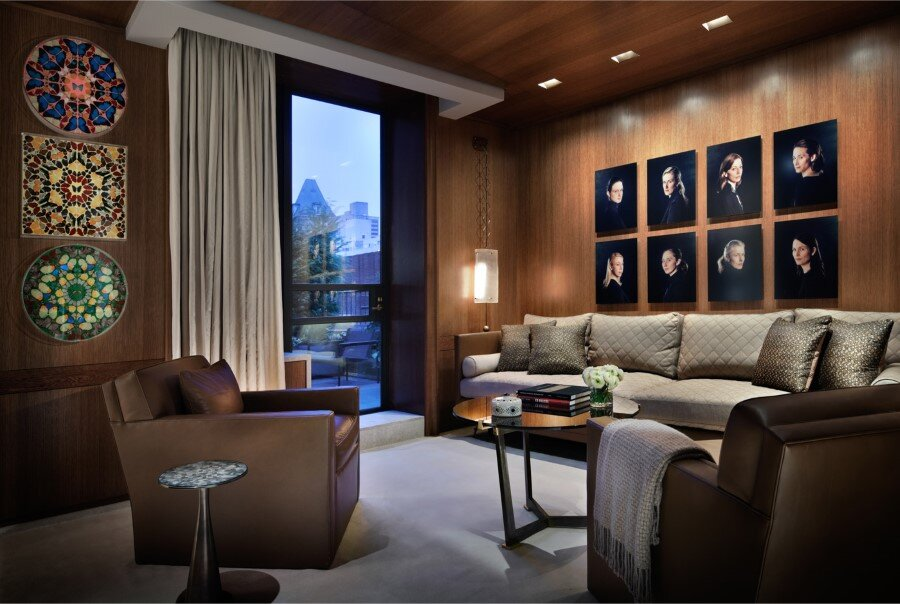 New York Penthouse Loft displays a beautiful collection of art (3)