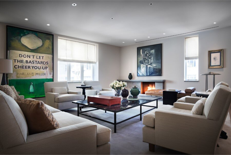 New York Penthouse Loft displays a beautiful collection of art (4)