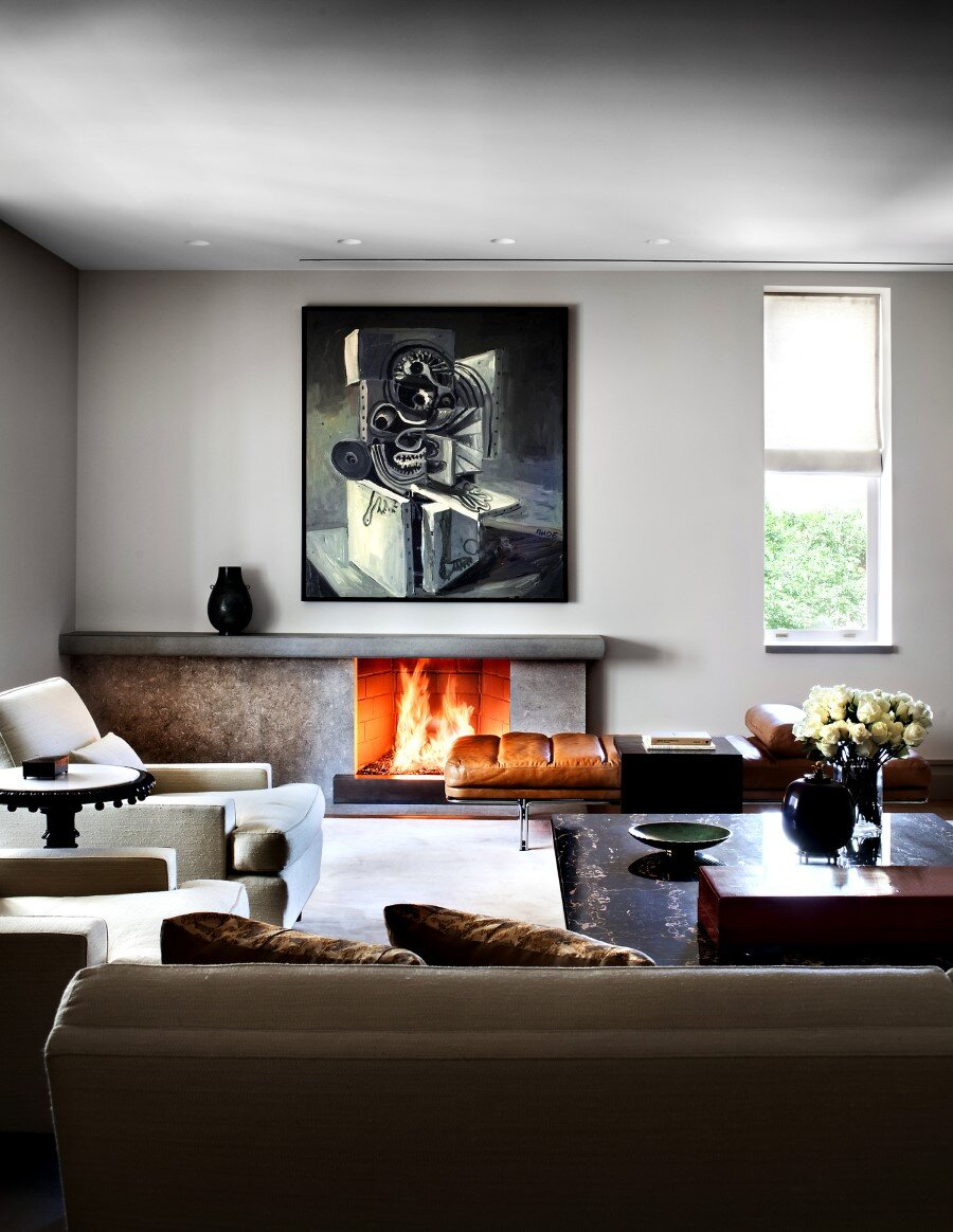 New York Penthouse Loft displays a beautiful collection of art (9)