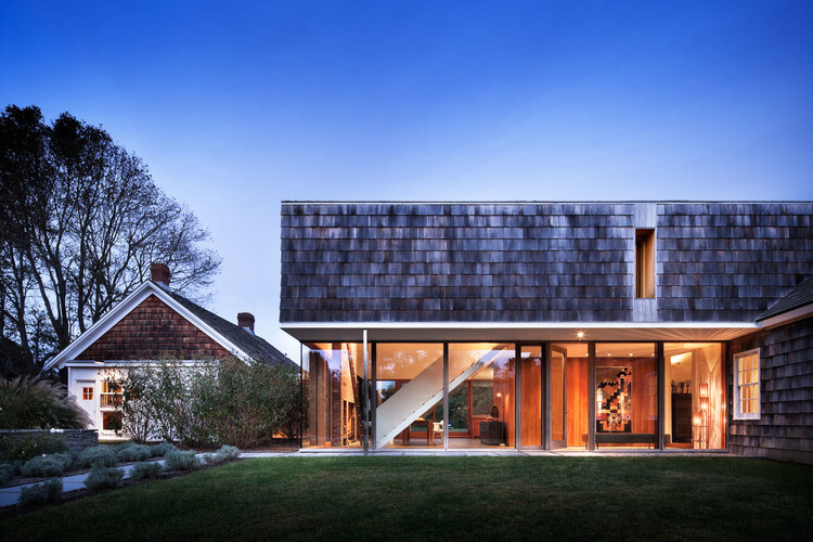 Sagaponack House - Created by Connecting Three 19th Century Barns (1)