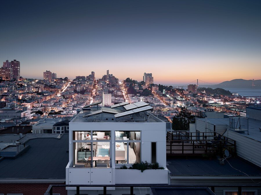 Telegraph Hill House Offers Stunning Views of San Francisco