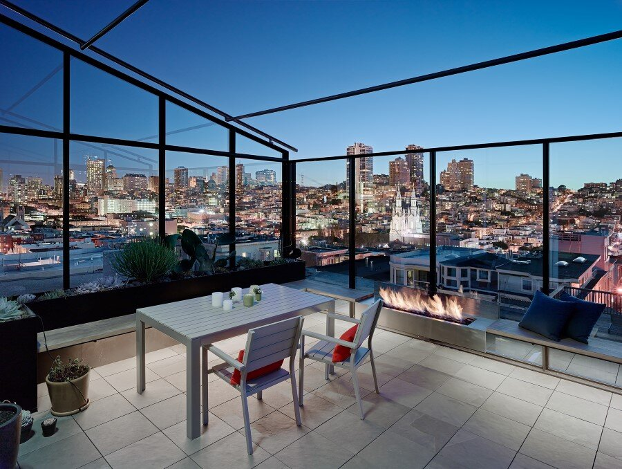 Telegraph Hill House Offers Stunning Views of San Francisco (6)