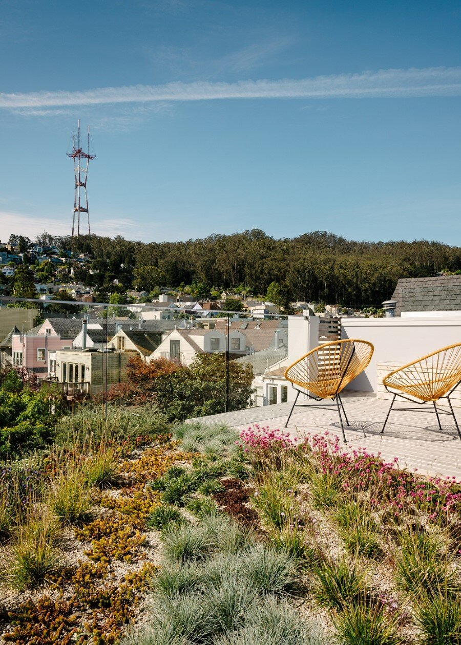Unconventional Three-Story Atrium House in San Francisco (10)