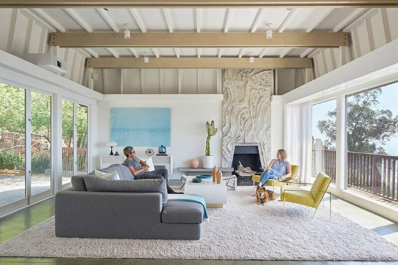 Berkeley Interior Design berkeley hills house: remodel of 1965 houseyamamar design