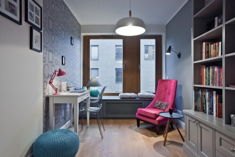 Katowice apartment with bright and cozy interior Superpozycja architekci (23)