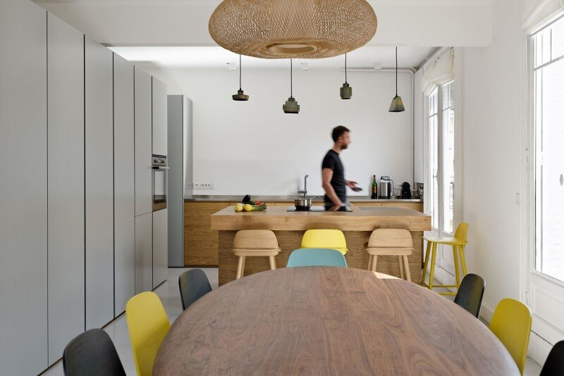 Maisonette Apartment by Ulli Heckmann and Eitan Hammer Paris (1)