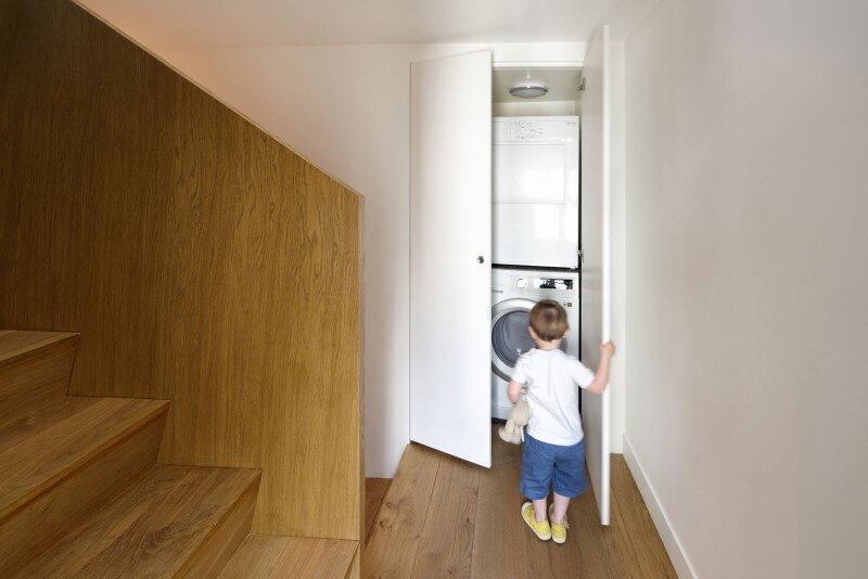 Maisonette Apartment by Ulli Heckmann and Eitan Hammer Paris (12)