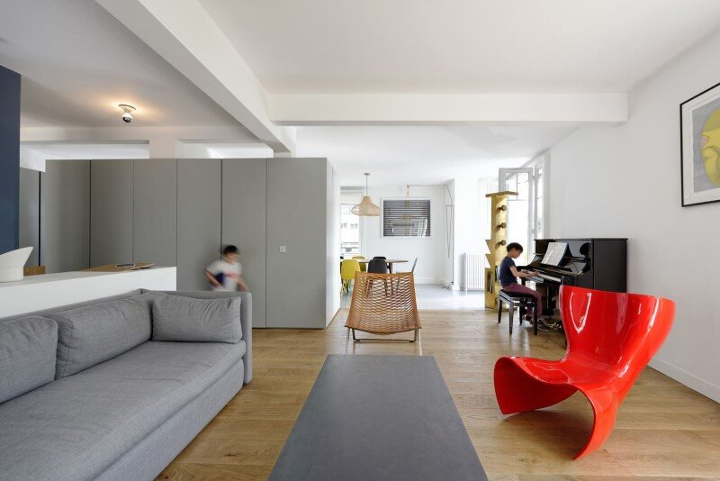 Maisonette Apartment by Ulli Heckmann and Eitan Hammer Paris (13)