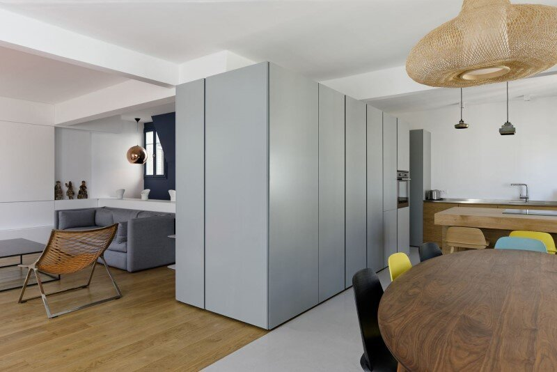 Maisonette Apartment by Ulli Heckmann and Eitan Hammer Paris (3)