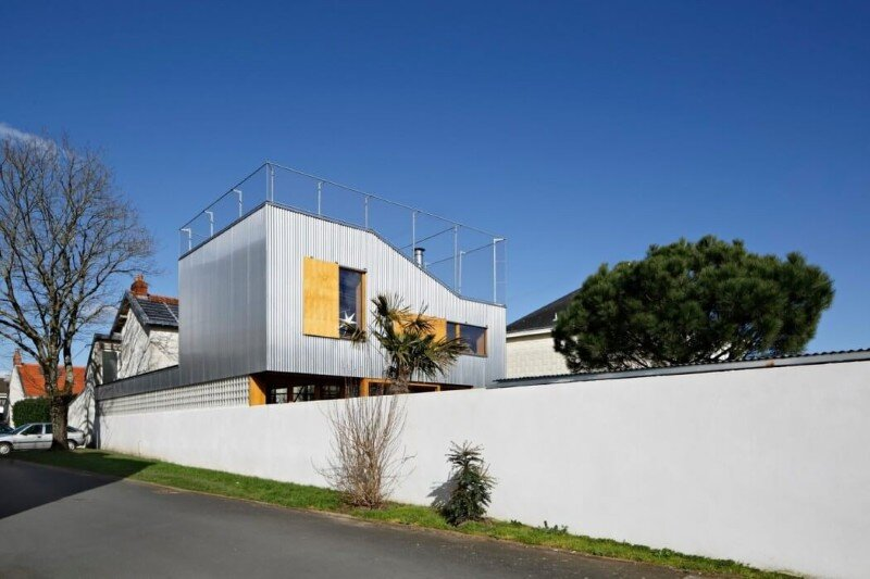 Rehabilitation and Extension of Single-Family Homes in Nantes (2)